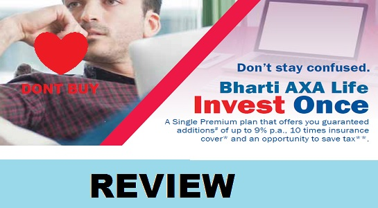 Bharti axa invest once