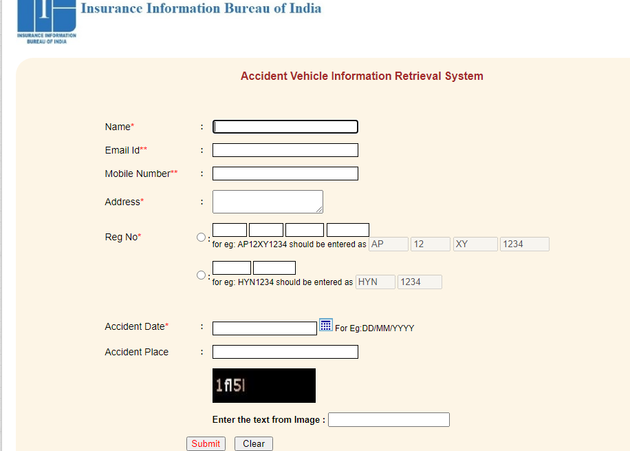 Accident Vehicle Information Retrieval System