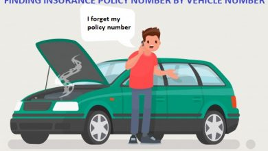 FINDING INSURANCE POLICY NUMBER BY VEHICLE NUMBER